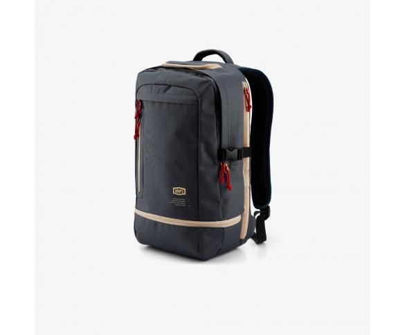 100%, TRANSIT Backpack Steel