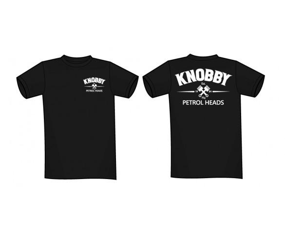 Knobby, KNOBBY T-Shirt Svart Large