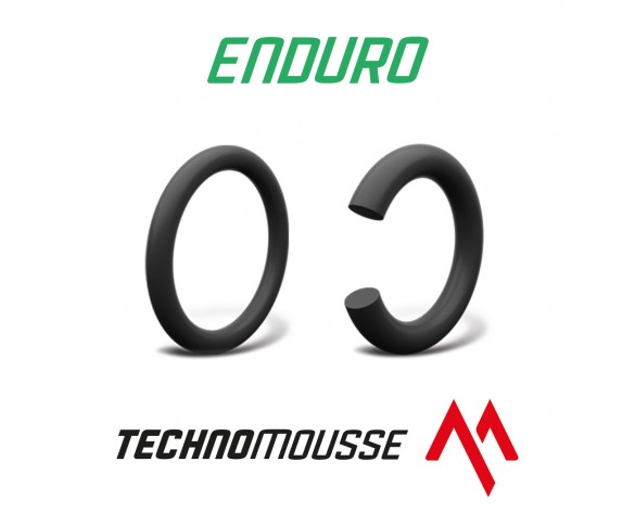 "Technomousse, Skumslang Black Series, Enduro, 140, 80, 18"", BAK"