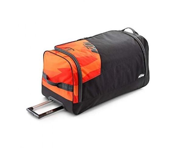 Orange gear bag