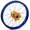 "Haan Wheels, Komplett Hjul, 1,60, 21"", FRAM, BLÅ GULD, SHERCO 12-13 450 Enduro Racing/510 SE Racing, 13 450 SE, 14-19 450 SEF, 20-21 450 SEF-R, 05-11 Enduro 4.5i, 12-19 250 SE/300 SE, 14-19 250 SEF/300 SEF, 20-21 250 SEF-R/250 SE-R/300 SEF-R/300 SE-R, 07-"