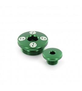 Holeshot, Motorplugg, GRÖN, Kawasaki 08-12 KLX450, 19-21 KX450, 06-18 KX450F, 19-20 KX250, 11-18 KX250F
