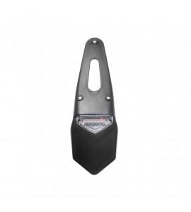 Holeshot, Nr.skylts hållare med LED bak/broms/nr.skylts belysning. E-märkt