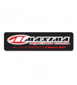 Maxima, Decal - Authorized Dealer Window Reverse Print / 38cm