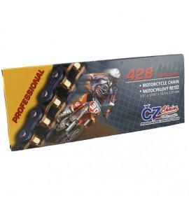 CZ Chains, Kedja MX Gold, 130 länkar, Professional, 428