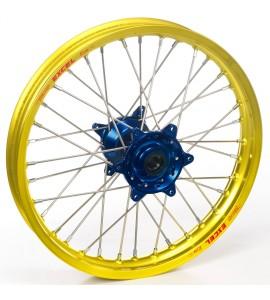 """Haan Wheels, Komplett Hjul, 1,40, 19"""", FRAM, GUL BLÅ, Honda 07-21 CRF150R"""