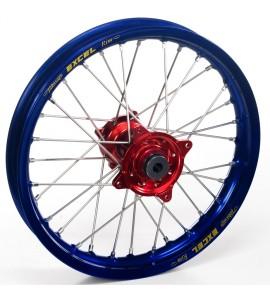 """Haan Wheels, Komplett Hjul, 1,40, 19"""", FRAM, BLÅ RÖD, Honda 07-21 CRF150R"""