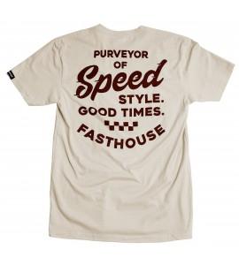 Fasthouse, Enfield Tee, Sand, VUXEN, S