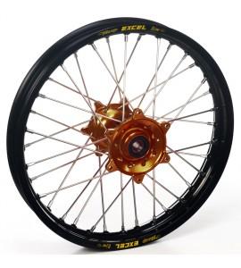 """Haan Wheels, Komplett Hjul, 1,60, 21"""", FRAM, BRONS SVART, BETA 13-14 RR 450 4T Enduro/RR 400 4T Enduro/RR 498 4T Enduro, 13-19 RR 250 2T Enduro, 20-21 RR 250 2T/XTRAINER 250 2T, 21 RR 350 4T EFI/RR 390 4T EFI/RR 430 4T EFI/RR 480 4T EFI, 13-19 RR 350 4T E"""