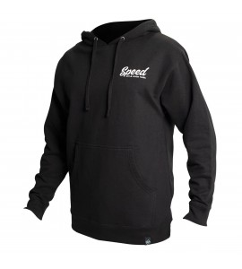 Fasthouse, Enfield Hooded Pullover, Black, XL, SVART