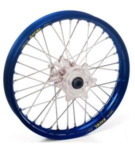 "Haan Wheels, Komplett Hjul, 2,15, 19"", BAK, SILVER BLÅ, Yamaha 21 WR450F, 09-21 YZ450F, 09-21 YZ250F"