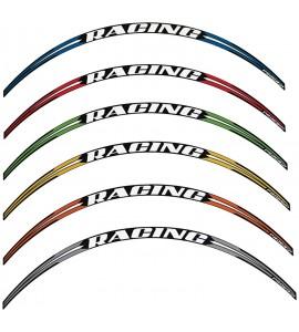 Progrip, Stripes för fälgkant, 12 stripes (3st per fälgsida), ORANGE