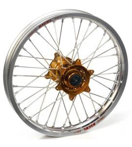 "Haan Wheels, Komplett Hjul, 2,15, 19"", BAK, SILVER BRONS, Yamaha 21 WR450F, 09-21 YZ450F, 09-21 YZ250F"