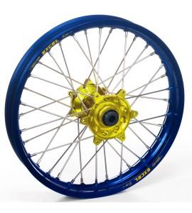 "Haan Wheels, Komplett Hjul, 1,60, 21"", FRAM, BLÅ GUL, SHERCO 12-13 450 Enduro Racing/510 SE Racing, 13 450 SE, 14-19 450 SEF, 20 450 SEF-R, 05-11 Enduro 4.5i, 12-19 250 SE/300 SE, 14-19 250 SEF/300 SEF, 20 250 SEF-R/250 SE-R/300 SEF-R/300 SE-R, 07-11 Endu"