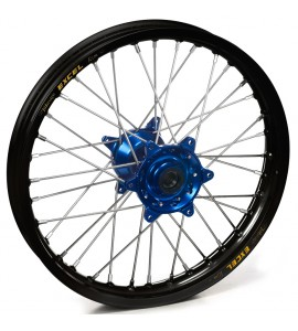 """Haan Wheels, Komplett Hjul, 1,85, 19"""", BAK, SVART BLÅ, Yamaha 21 WR450F, 09-21 YZ450F, 09-21 YZ250F"""