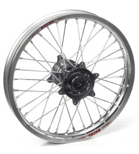 "Haan Wheels, Komplett Hjul, 2,15, 19"", BAK, SILVER GRÅ, Yamaha 21 WR450F, 09-21 YZ450F, 09-21 YZ250F"