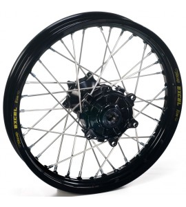 "Haan Wheels, Komplett Hjul, 2,15, 19"", BAK, SVART, Yamaha 21 WR450F, 09-21 YZ450F, 09-21 YZ250F"