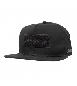 Fasthouse, Badge Hat - Black, VUXEN, SVART