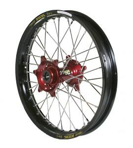 "Haan Wheels, Komplett Hjul SM, 5,00, 17"", BAK, SVART RÖD, Husqvarna 05-10 SM-R 450/SM-R 510, 04-10 TC 450/TE 450/TE 510, 04-13 TC 250/TE 250, 11-12 TE 125, 05-09 SM-R 610/SMR 630, 11-13 TC 449/TE 449/TE 511, 06-10 TC 510, 09-13 TE 310"