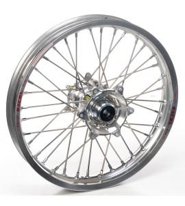 """Haan Wheels, Komplett Hjul, 2,15, 18"""", BAK, SILVER, Husqvarna 04-10 TC 450/TE 450/TE 510, 04-13 TC 250/TE 250, 11-12 TE 125, 11-13 TC 449/TE 449, 06-10 TC 510, 09-13 TE 310"""