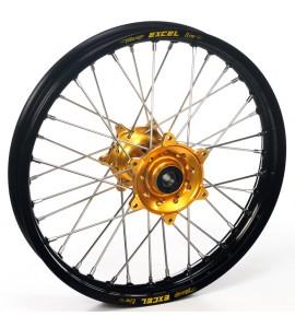"""Haan Wheels, Komplett Hjul, 2,15, 18"""", BAK, SVART GULD, Husqvarna 04-10 TC 450/TE 450/TE 510, 04-13 TC 250/TE 250, 11-12 TE 125, 11-13 TC 449/TE 449, 06-10 TC 510, 09-13 TE 310"""