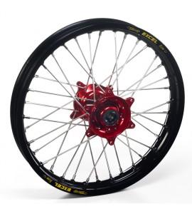 "Haan Wheels, Komplett Hjul, 2,15, 18"", BAK, SVART RÖD, Husqvarna 04-10 TC 450/TE 450/TE 510, 04-13 TC 250/TE 250, 11-12 TE 125, 11-13 TC 449/TE 449, 06-10 TC 510, 09-13 TE 310"