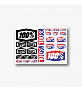100%, DECAL SHEET NEW 8 x 5 1/2