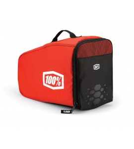 100%, AIRCRAFT Helmet Bag - Red