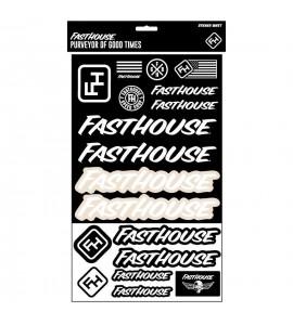 Fasthouse, FastHouse B&W Klistermärken Ark