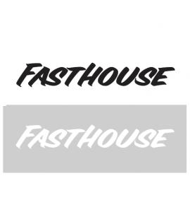 Fasthouse, Vinyl Die-Cut Sticker - Svart 76cm, SVART