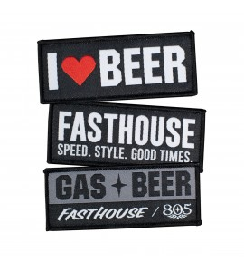 Fasthouse, Beer Velcro Patch Pack