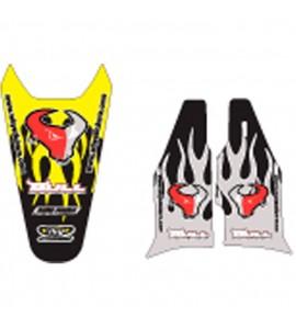 Why Stickers, Bull Sponsor RMZ 450, 05-07, Suzuki 05-07 RM-Z450