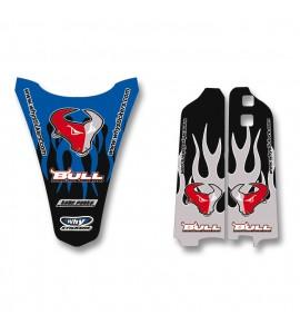 Why Stickers, Bull Sponsor YZ 125-250, 96-01 250-450F 98-02, Yamaha 96-01 YZ250, 01-02 YZ250F, 96-01 YZ125, 98-99 YZ400F, 00-02 YZ426F