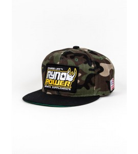 Ryno Power, Hat Camo Bill Snapback