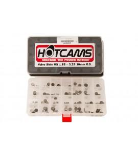 Hot Cams, Shims kit, 1,85mm-3,25mm, totalt 84 shims., 10mm