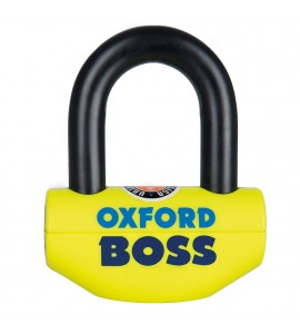 Oxford, Boss Bromsskivelås 12,7mm Gul