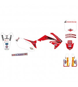 Why Stickers, Replica Kit Martin Racing CRF 250, 04-09, Honda 04-09 CRF250R