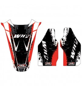 Why Stickers, Sponsor Kit CRF 450, 05-08, Honda 05-08 CRF450R
