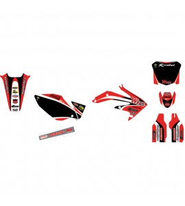 Why Stickers, Replica Kit Wyss WMX CRF 250, 04-09, Honda 04-09 CRF250R