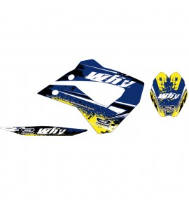 Why Stickers, Stickers Kit HUS FE/FS 450/550, 06-08, Husaberg 06-08 FE450