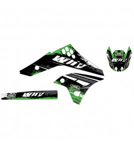 Why Stickers, Stickers Kit KXF 450, 06-08, Kawasaki 06-08 KX450F