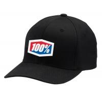 100%, Hat- Flexfit Classic, VUXEN, S M, SVART