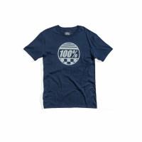 100%, SECTOR Tee-shirt Slate, VUXEN, L, BLÅ