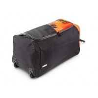 Orange gear bag