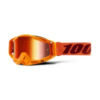 100%, RACECRAFT Goggle Menlo  - Mirror True Gold Lens, VUXEN