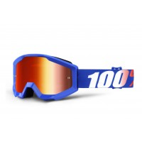 100%, STRATA YOUTH Nation - Mirror Red Lens, BARN