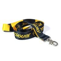 Fasthouse, Lanyard - Black/Yellow, SVART GUL